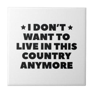 Este país azulejo de cerámica
