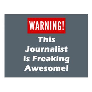 ¡Este periodista es el Freaking impresionante! Postal