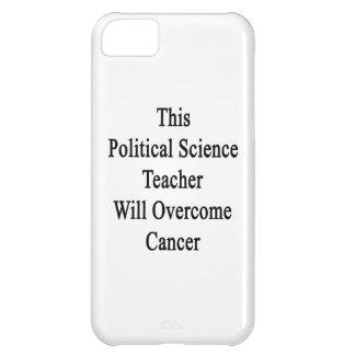 Este profesor de ciencias político superará Cance