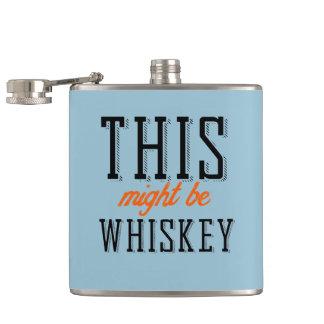 Éste pudo ser whisky petaca