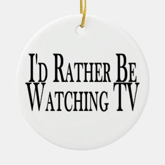 Esté viendo bastante la TV Adorno Para Reyes