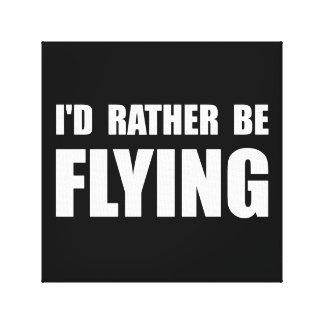 Esté volando bastante impresión en tela