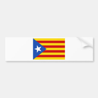 Estelada, independentista de Catalunya del bandera Pegatina Para Coche