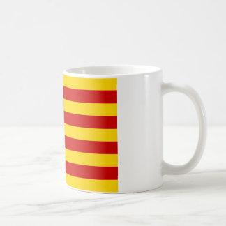 Estelada, independentista de Catalunya del bandera Taza De Café