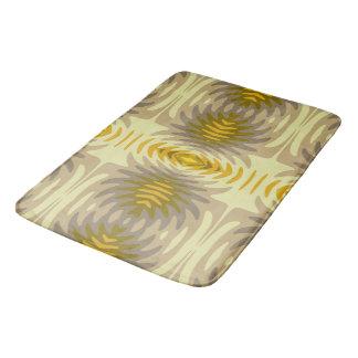Estera de baño amarilla - pescado cósmico