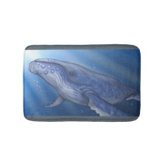 Estera de baño de la ballena jorobada