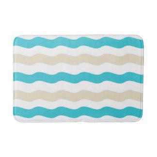 Estera de baño de la ola oceánica