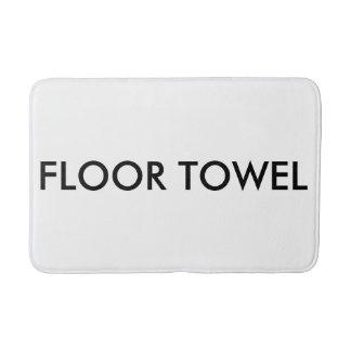 Estera de baño de la toalla del piso