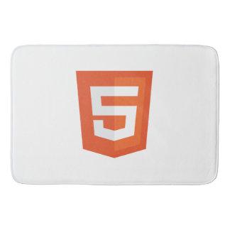 Estera de baño del HTML