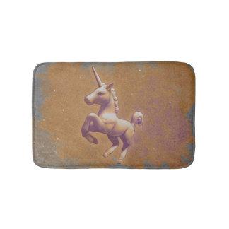 Estera de baño del unicornio (lavanda del metal)