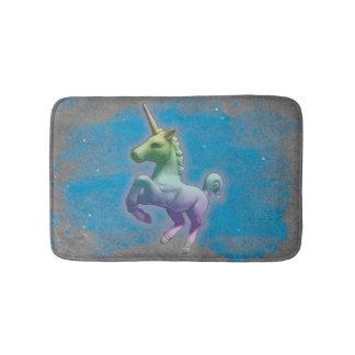 Estera de baño del unicornio (nebulosa azul)