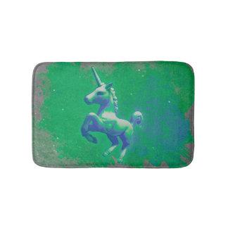Estera de baño del unicornio (que brilla
