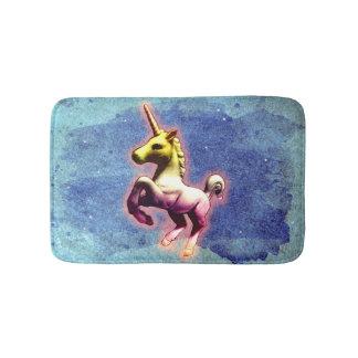 Estera de baño del unicornio (reflejo de la