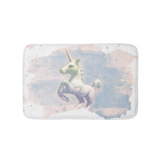 Estera de baño del unicornio (sueños de la luna)