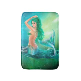 Estera de baño hermosa de la fantasía de la sirena