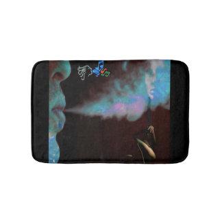 estera de baño mágica del humo