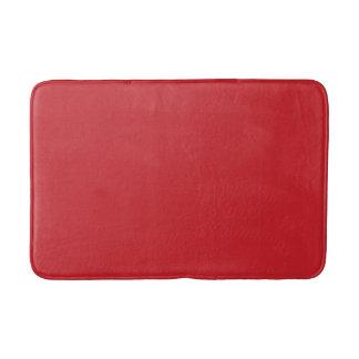 Estera de baño roja del navidad