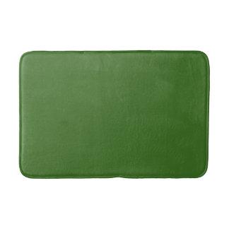 Estera de baño verde del navidad