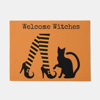 Estera de puerta agradable de Halloween de las