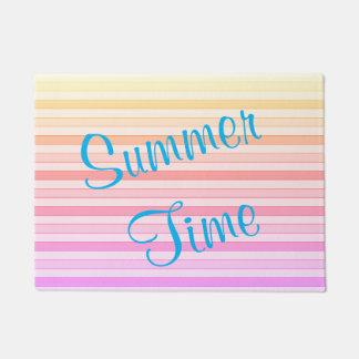 Estera de puerta del tiempo de verano