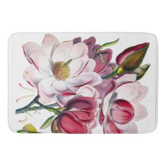 Estera del cuarto de baño de la magnolia de alfombrilla de baño