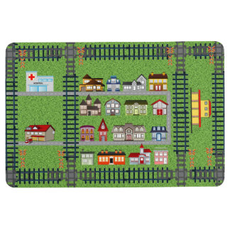 Estera del juego de la pista del tren alfombra