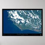 Esterillos Oeste, poster del satélite de Costa Ric