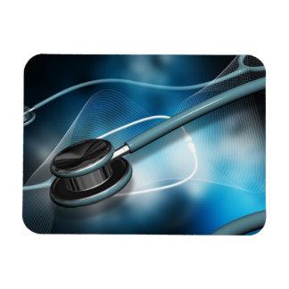 Estetoscopios médicos de la enfermera imanes de vinilo