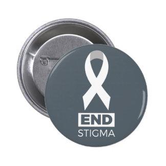 Estigma del extremo para el Pin. del cáncer de Chapa Redonda De 5 Cm