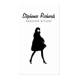 Estilista del chica III de la moda de la MOD, Tarjetas De Visita