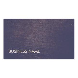 Estilista violeta minimalista moderno de la tarjetas de visita