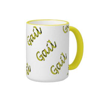 Estilo amarillo de Gail taza del campanero de 15
