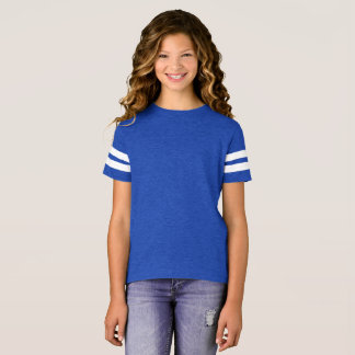 Estilo: Camisa del fútbol de los chicas si es