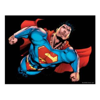 Estilo cómico del superhombre postal