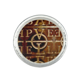Estilo D del anillo de Juan Dee Enochian PELE