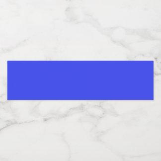 estilo de 4 PC: Etiqueta de la botella de agua