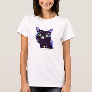 Estilo de la camiseta del club del gato negro