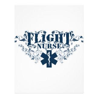 Estilo de la enfermera del vuelo folleto 21,6 x 28 cm