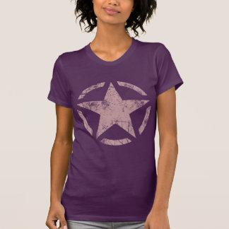 Estilo de la fibra de carbono de la etiqueta del j camisetas