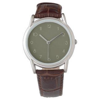 Estilo de los números del vintage de la OBRA Reloj