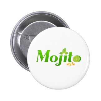 Estilo de Mojito Pin