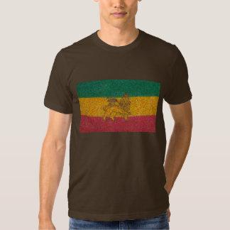 Estilo de Van Gogh de la bandera de Rastafari Camiseta
