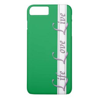 estilo de vida más del verde del caso del iPhone 7 Funda iPhone 7 Plus