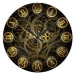 Estilo del engranaje del victorian del reloj de