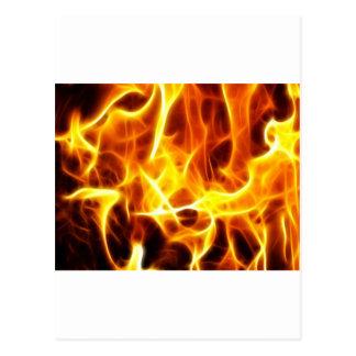 Estilo del fuego postal