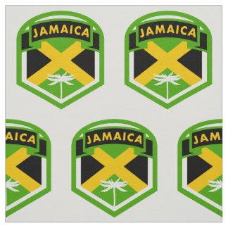 Estilo del logotipo de la bandera de Jamaica Tela