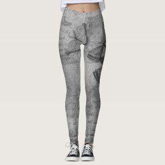 Estilo del vintage leggings