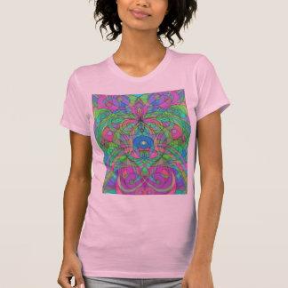 Estilo étnico de la camiseta