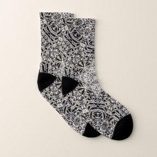 Estilo étnico G419 de Mehndi de los calcetines