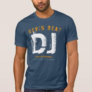 Estilo fresco de la camiseta de DJ